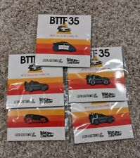 Leen Customs Back to the Future Bttf 35 Collectible Pin Set of 5