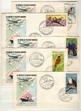 AP135523/ SENEGAL – FDC ON COVER – YEARS 1960 - 1966 USED MODERN LOT
