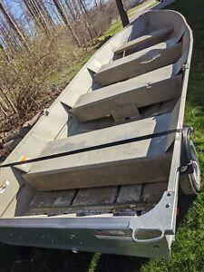 "2013 Lowe V1457 13'11"" Aluminum Boat & Trailer - Ohio"