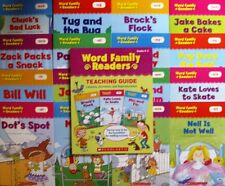 Set of 16 Easy-to-Read Word Families Storybook plus a 48pg Teaching Guide.