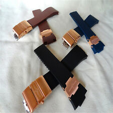 10mm 12mm rubber diver watch strap silicon band for Ulysse Nardin 2 size choose