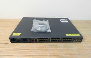 Cisco ME-3400EG-12CS-M 12x 10/100/1000 RJ45 SFP ports 4x1Ge SFP Uplink Chassis