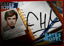 BATES MOTEL - FREDDIE HIGHMORE, Norman Bates - Autograph Card - AFH1 - VARIANT A