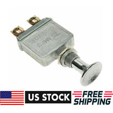 New Heavy Duty 75 AMP Universal Push Pull Switch Light 6-28 Volt - USA Shipping