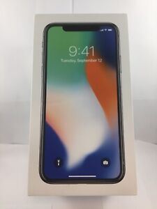 Apple iPhone X 64GB Silver Box Only