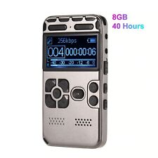 Digital Sound Voice Recorder Mp3 Player Voice Activated Recording Button Record