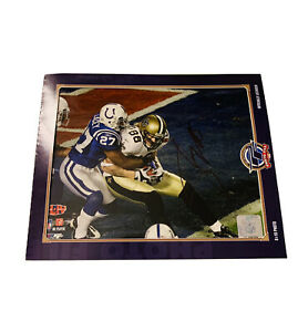 NFL Super Bowl XLIV New Orleans Saints #88 Jeremy Shockey Autograph 8 x 10 Photo