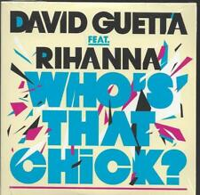 David Guetta Feat Rihanna Who's That Chick? PROMO CD New Sealed