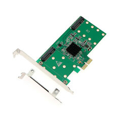 mSATA expansion cards PCIe to 4 port MSATA solid state hard drive adapter card R