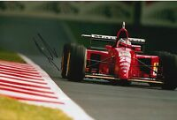 Gerhard Berger Hand Signed Ferrari 12x8 Photo F1 3.