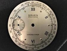 RARE NOS-Gruen-Chrono-timer-Chronograph-Dial - Telemeter