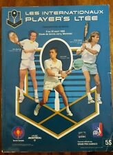 1989 special edition Player's tennis in Montreal - McEnroe, Lendl , Agassi