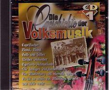 Die Geschichte der Volksmusik CD 1 - CD-Album 16 Track s