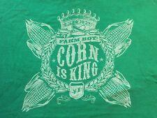 XL green CORN IS KING t-shirt by FARMBOY AUTHENTIC BRAND