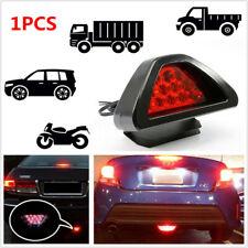 1PC F1 Style 12 LED Rear Tail Brake Parking Light 3rd Red Strobe Fog Lamp Bumper