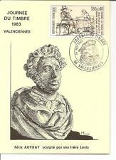 Jounée du Timbre - Carte locale Valenciennes 1983