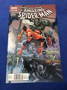 The Amazing Spider-Man #676 vs Sinister Six HTF Newsstand Variant Marvel 2012