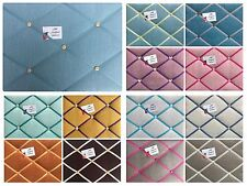 Custom Made Linen Pin/Memo/Notice Cork Board 17 colours 8 sizes made to order!