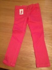 New Next Girls Pink Skinny Jeans - Size 4 years