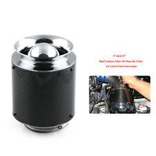 "3"" Inlet /5"" Carbon Fiber Hi-Flow Air Filter For Cold Air/Short Ram Intakes Kits"