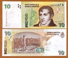 Argentina, 10 Pesos, ND (2003), P-354, N-serie (2012), UNC