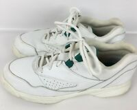 Womens COBBIE CUDDLERS White Leather Comfort Walking Shoes Sneakers SIZE 7.5