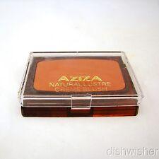 AZIZA Prince Matchabelli Rose Bronze w Bronze Lustre Creme Blush .18 oz NEW NWOB
