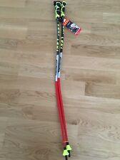 Bastoncini da sci LEKI World Cup GS RACING 115 cm-Sistema di Trigger S/Cinturini incluso! NUOVO!