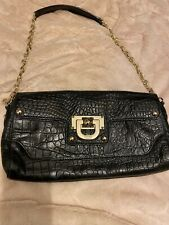 DKNY Black Leather Bag, Shoulder Bag/clutch Used