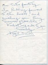 HAZEL DAWN SILENT MOVIE ACTRESS IN THE LONE WOLF SIGNED LETTER AUTOGRAPH