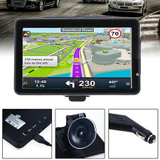 "7"" HD Portable Truck Car GPS Navigator Navigation Music Player+Free Lifetime Map"