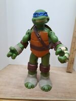 "Teenage Mutant Ninja Turtle Leonardo Large 11"" Action Figure 2012 Playmates"