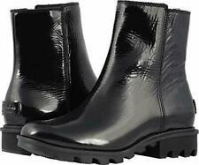 SOREL Women's Phoenix Zip Booties Winter Boots Black Size 6 US (M)