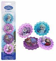 FROZEN Pack of 4 x Frozen Design Erasers