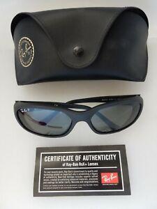 Ray Ban Italy K RB2016 Daddy-O W2578 3N Black Rx Sunglasses Polarized MINT Cond!