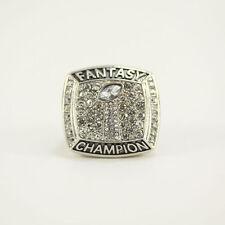2017 fantasy Football Championship Ring Souvenir Sport Trophy Ring size 8-14