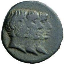 Octavian Augustus Mark Antony and Lepidus 43BC Ephesus Ancient Roman Coin NGC
