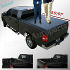 Lock & Roll Up Soft Tonneau Cover For 2016-now Nissan Titan Short Bed 5.5'/67