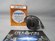 COMPUTAR WIDE ANGLE LENS 1.6/3.6MM (CS) C-MOUNT LENS CCTV TV SECURITY CAMERA