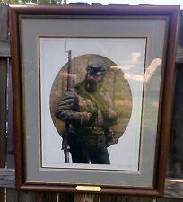Michael Gnatek Print Look Away Dixieland Framed Signed & Numbered Civil War COA