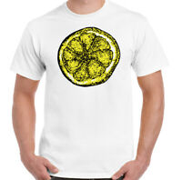 Stone Roses T-Shirt Mens Lemon Adored Unisex Top The