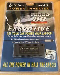 NEW Cobra Power Inverter Model P2 * Turbo 80 * Executive