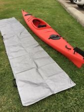 Kayak Polyweave Storage or Transport Cover - Silver (Mirage 582)