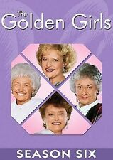 NEW--The Golden Girls - The Complete Sixth Season (DVD, 2006, 3-Disc Set)