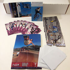 ADRENALINE (FLEER/2000) Complete Card Set w/ ALL CHASE CARDS Ron Dyrdek X-GAMES