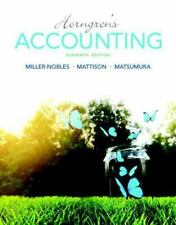Horngren's Accounting 11th edition w/ MMyAccountingLab Included