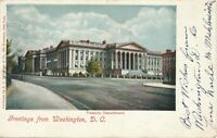 WASHINGTON DC - Treasury Department - udb - 1905