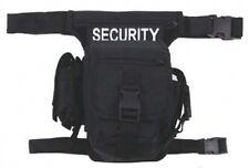 Us Security hip Bag W pierna-y cinturón fijación riñonera negro Black