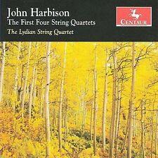 John Harbison: The First Four String Quartets, New Music