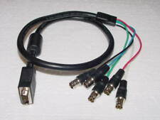 VGA 15-Pin Monitor to RGB Video Monitor Cable 3ft 15pin